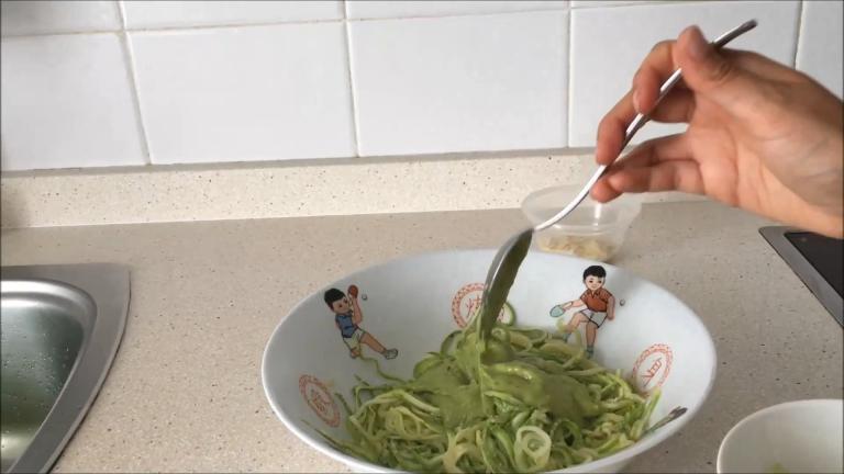 Espaguetis calabacin lekue